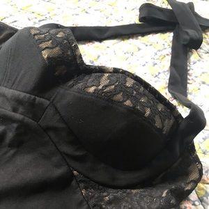 Moda International Dresses - VS Moda International Black Halter Dress